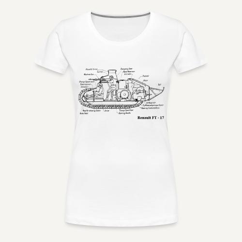 ft17 - Koszulka damska Premium
