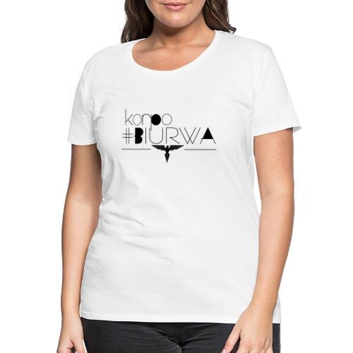 Korpo biurwa - Koszulka damska Premium