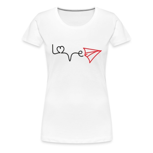 love is in the air - Frauen Premium T-Shirt