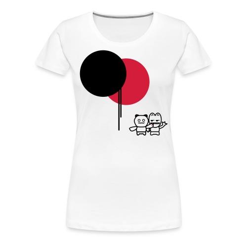 BALLOONS - FEELIN'IT - Premium T-skjorte for kvinner