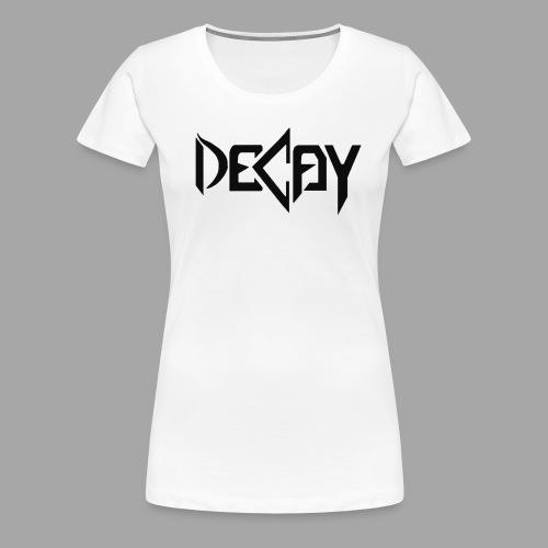 Zwart Logo - Vrouwen Premium T-shirt