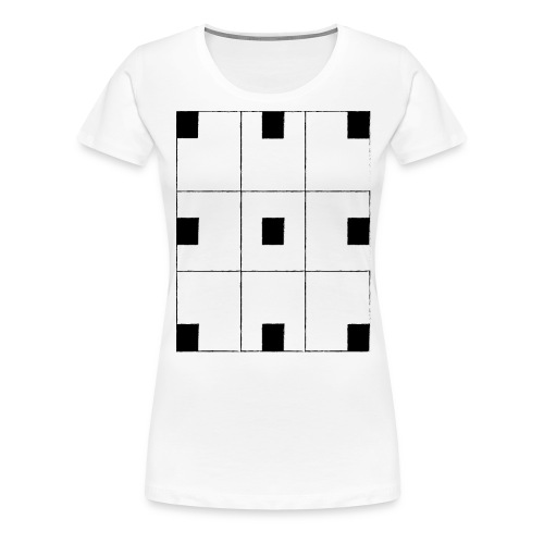 chessboard - Women's Premium T-Shirt