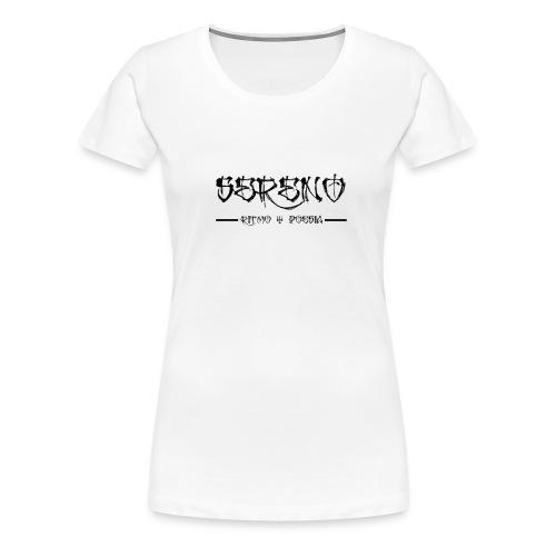 Sereno ritmo y poesia - Camiseta premium mujer