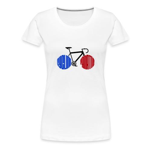 Cycling Fanatic - Women's Premium T-Shirt
