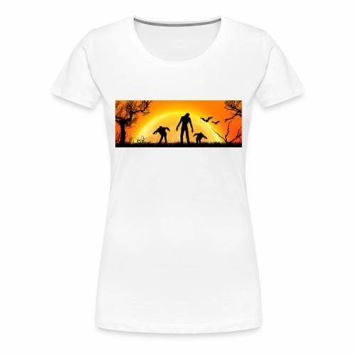 Halloween_Zombies - Frauen Premium T-Shirt