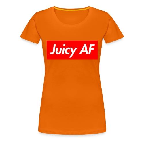 Juicy AF Front - Frauen Premium T-Shirt