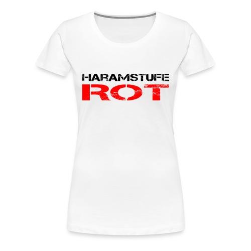 HARAMSTUFE ROT - Frauen Premium T-Shirt