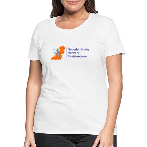 nederlandstalig netwerk basisinkomen - Vrouwen Premium T-shirt