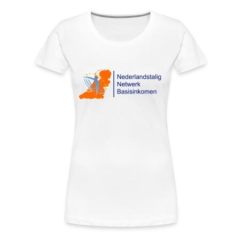 nederlandstalignetwerkbasisinkomen - Vrouwen Premium T-shirt