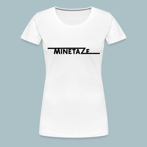 Minetace-png - Vrouwen Premium T-shirt