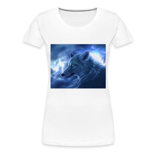 Arctic Wolf - Frauen Premium T-Shirt