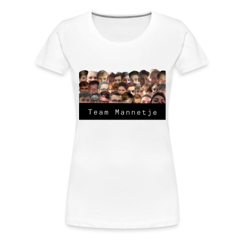 Team Mannetje - Vrouwen Premium T-shirt