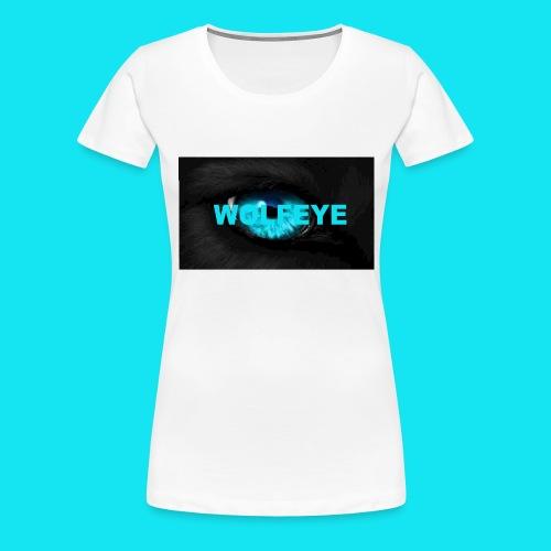 WolfEye T-Shirt - Women's Premium T-Shirt