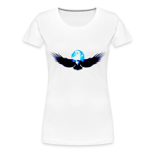 eagle earth - Vrouwen Premium T-shirt
