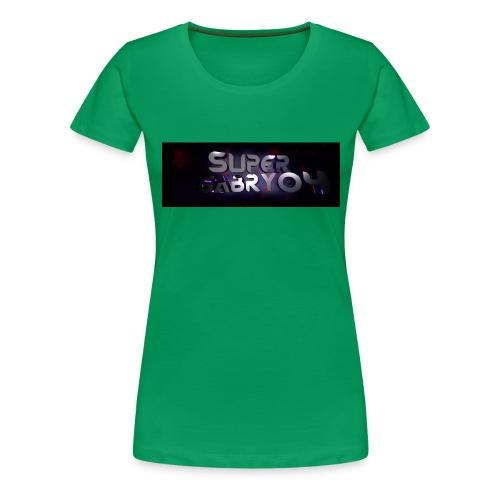 SUPERGABRY04 - Maglietta Premium da donna