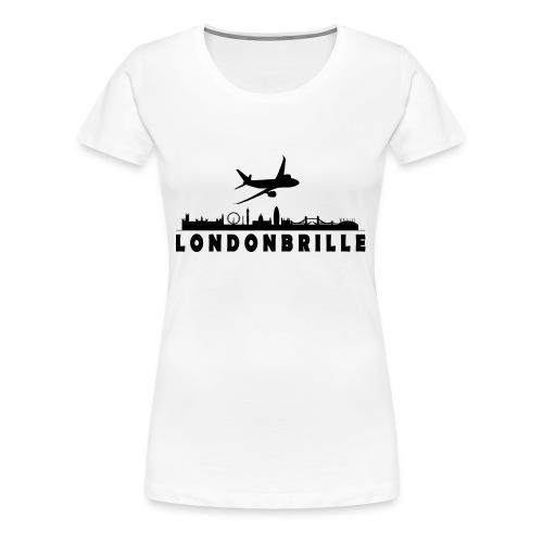 Londonbrille - Frauen Premium T-Shirt