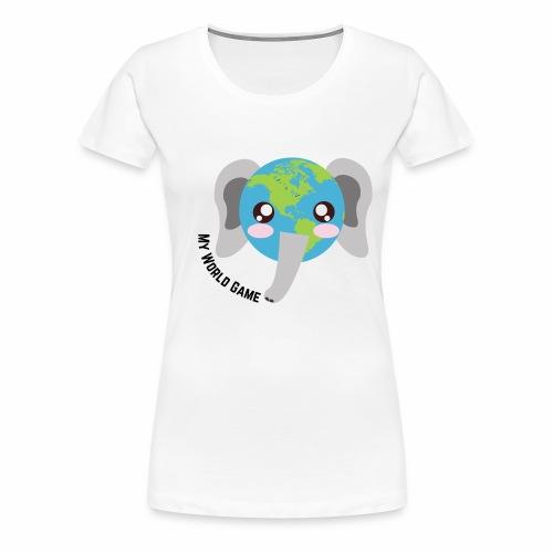 Eléphant d'Afrique - T-shirt Premium Femme
