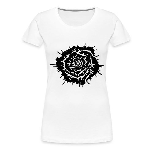 Dead Roses - Maglietta Premium da donna