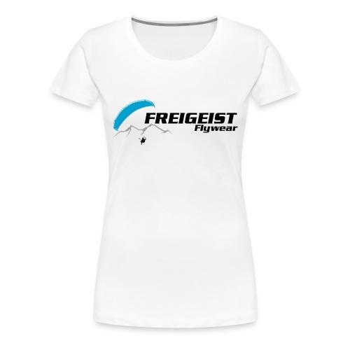 Freigeist-Flywear logo - Frauen Premium T-Shirt