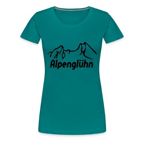 watzmann_alpengluehn - Frauen Premium T-Shirt