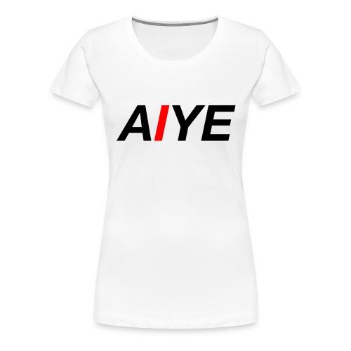 AIYE Basic Logo - Vrouwen Premium T-shirt