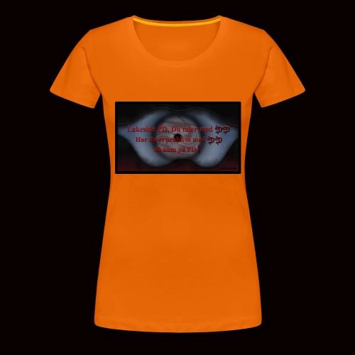 Lakeside PD, Du taler med DD! - Dame premium T-shirt