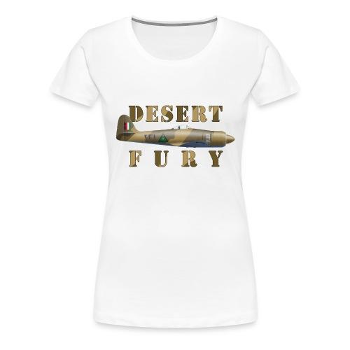 Desert Fury - Women's Premium T-Shirt
