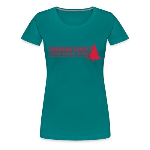 Morning Wood Lumber Company - Women's Premium T-Shirt