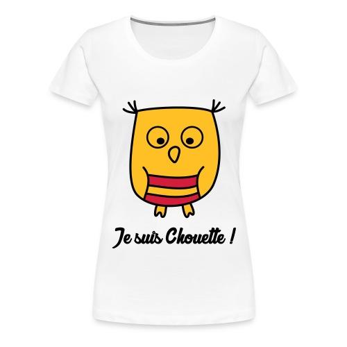 Hibou Chouette enfant naissance bébé animal - T-shirt Premium Femme