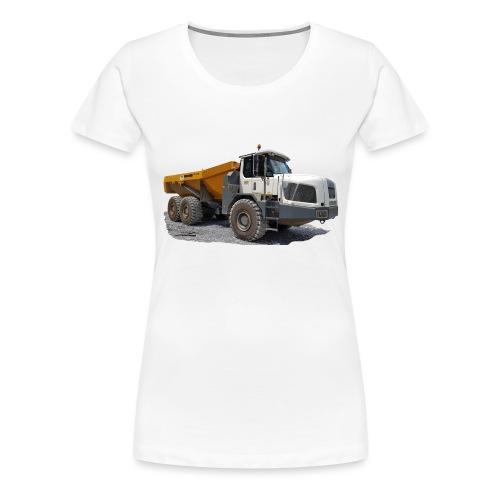 Muldenkipper - Frauen Premium T-Shirt