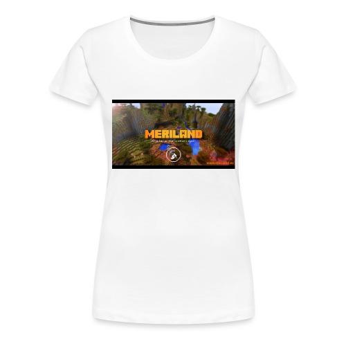 Taza Meriland con web - Camiseta premium mujer