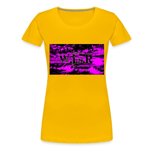 wisr valuva taivas Naisten-T Paita - Naisten premium t-paita