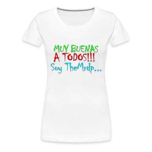 Camiseta oficial TheMrdp - Camiseta premium mujer