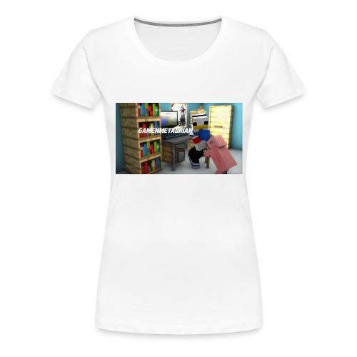 novaskin-minecraft-wallpaper-jpg - Vrouwen Premium T-shirt