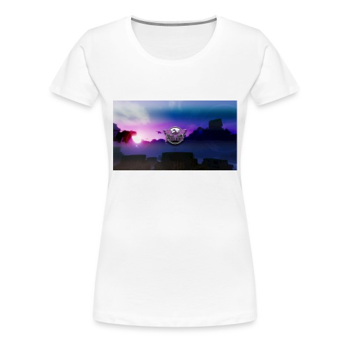 Kop - Dame premium T-shirt