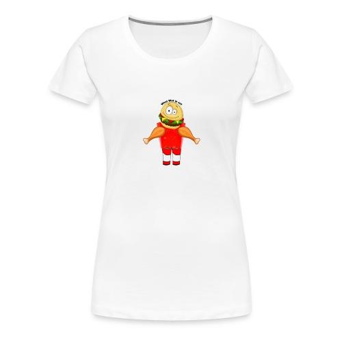 Je Bent Wat Je Eet - Vrouwen Premium T-shirt
