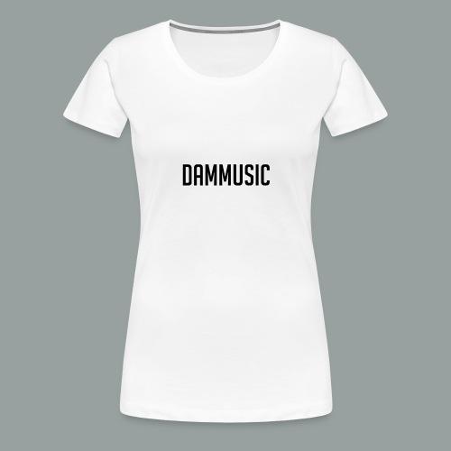Dammusic Shirt Vrouwen - Vrouwen Premium T-shirt