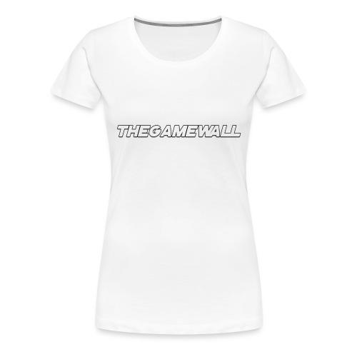 TheGameWall T-shirt 2 [BETA] - Vrouwen Premium T-shirt