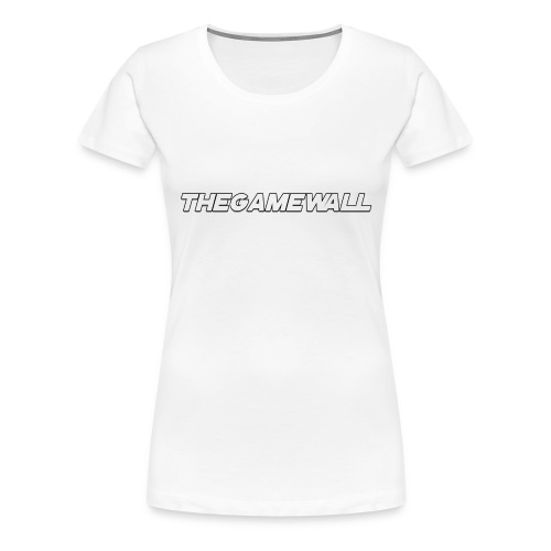 TheGameWall T-shirt 2 [BETA] - Vrouwen Premium T-shirt