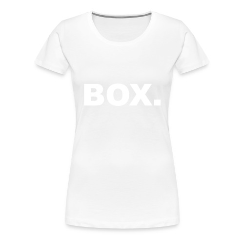 BOX. Clothing Crewneck Unisex - Vrouwen Premium T-shirt