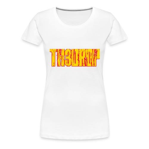 T-shirt th3 drop - Maglietta Premium da donna