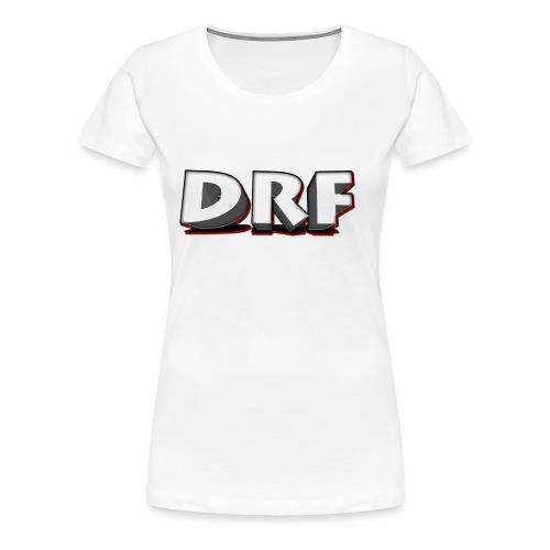 T-Shirt met het DRF logo - Vrouwen Premium T-shirt
