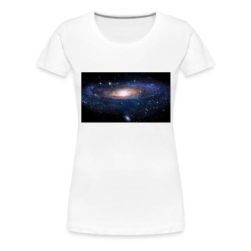 Galaxy - T-shirt Premium Femme