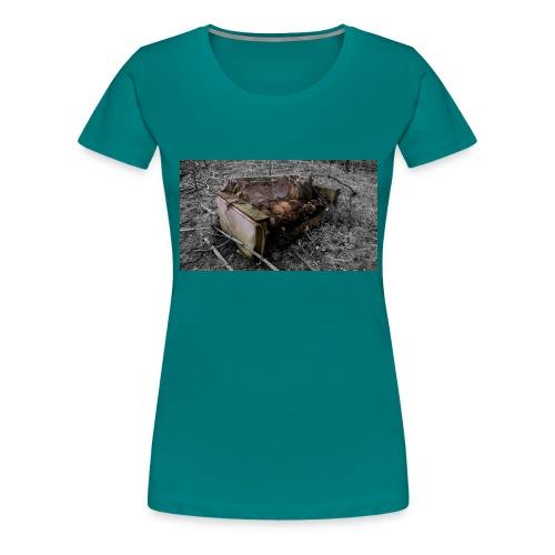 sofa 1 - Dame premium T-shirt