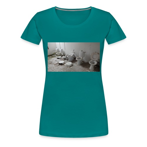 Toilets - Dame premium T-shirt