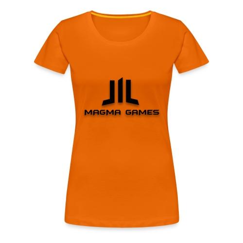 Magma Games S4 hoesje - Vrouwen Premium T-shirt