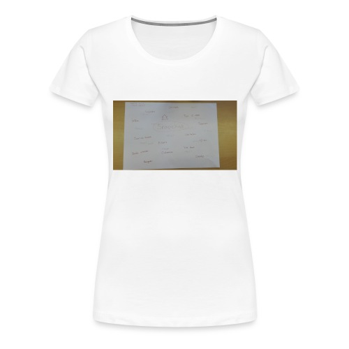 a3 - Vrouwen Premium T-shirt