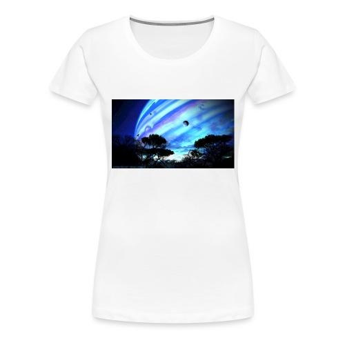 tropical night - Camiseta premium mujer