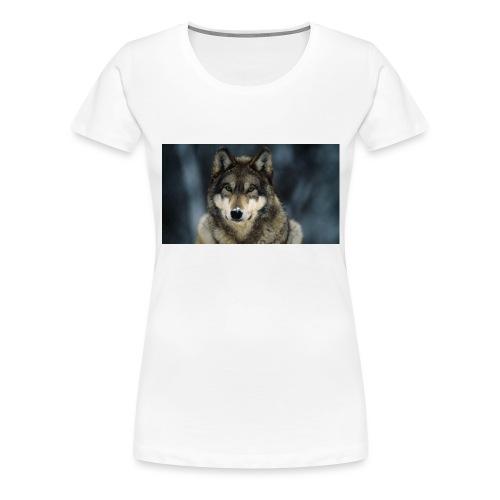 wolf shirt kids - Vrouwen Premium T-shirt