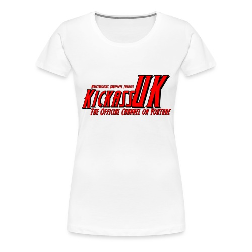 New 2016 KickassUK Mens T-Shirts - Women's Premium T-Shirt